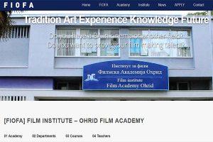 Alphacom Solutions Portfolio Web Design - FIOFA - FilmAcademyOhrid.com
