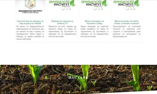 Web Design Zeminst.UKIM.Edu.mk